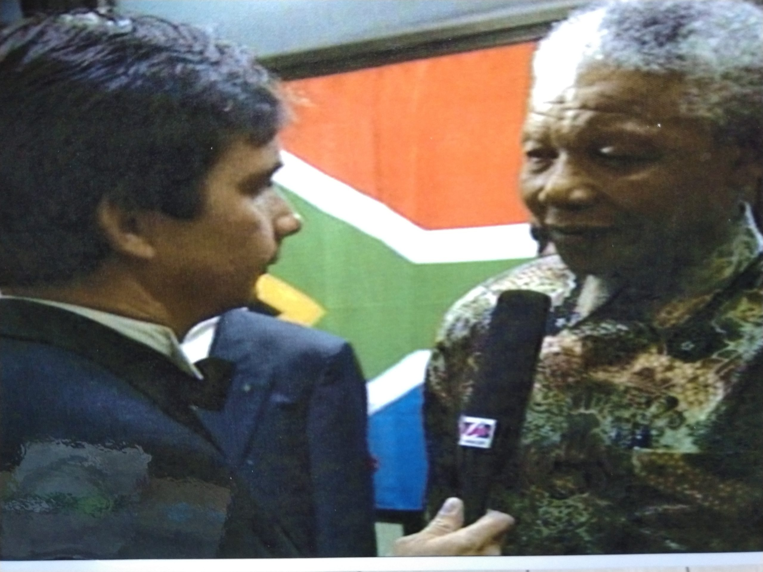 Interview Nelson Mandela