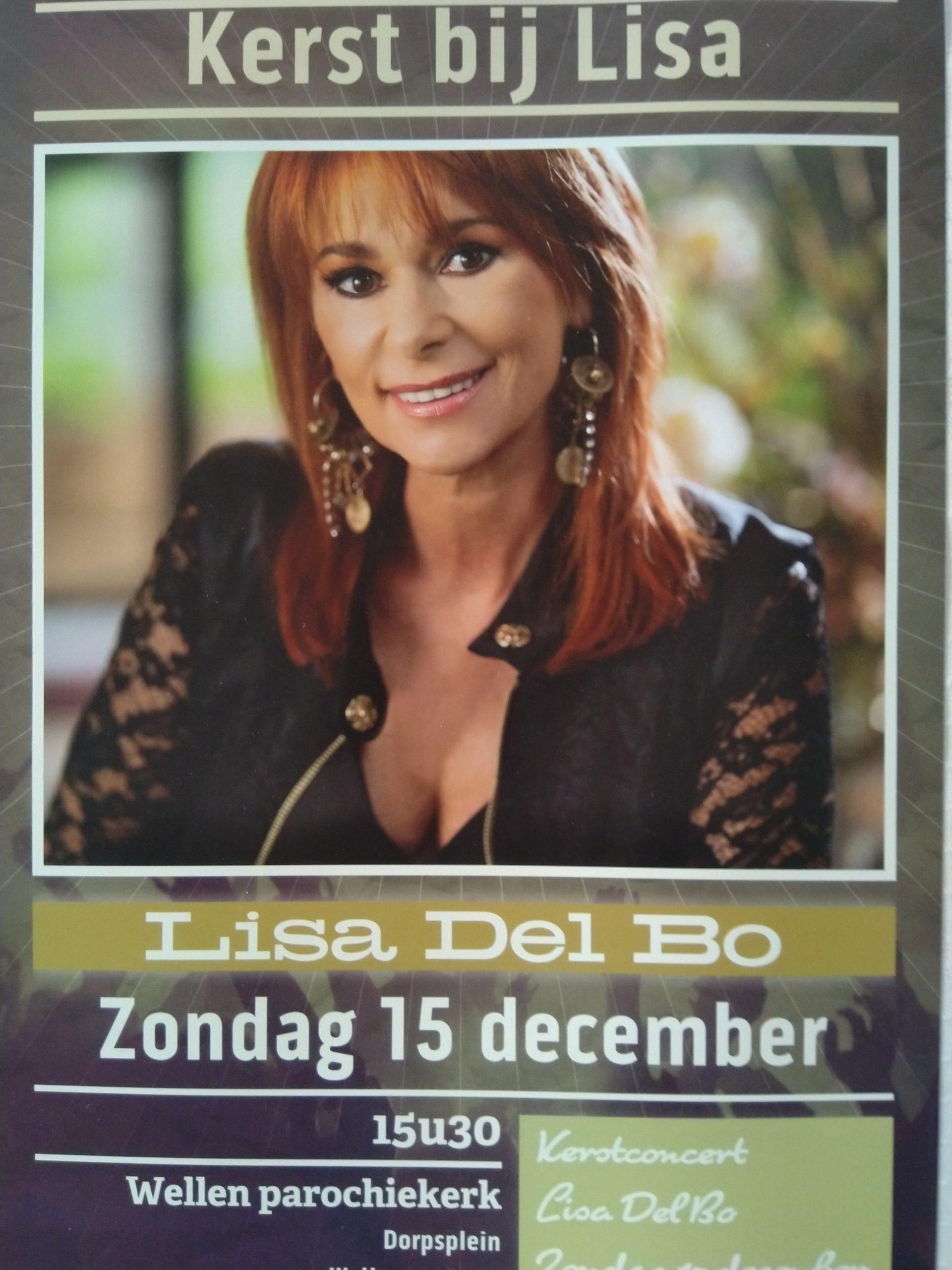 Organisatie Lisa Del Bo kerstconcert